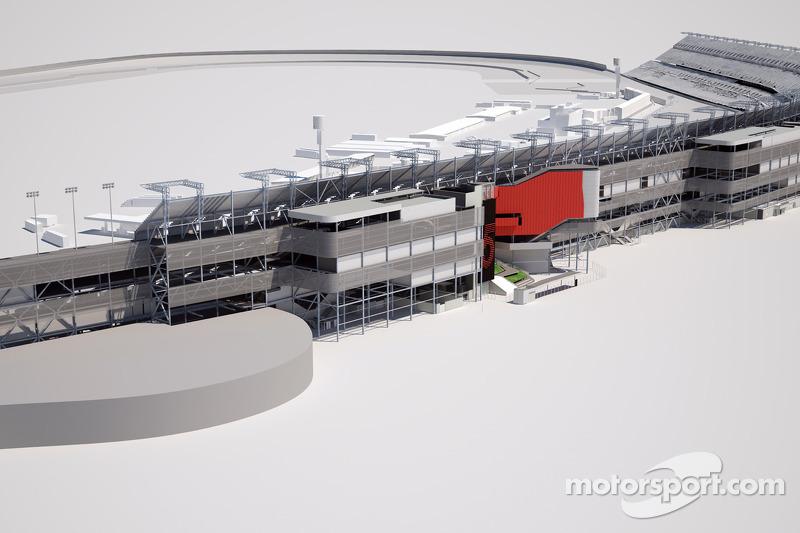 Representaciones artísticas de la visión propuesta para el rediseño de Daytona