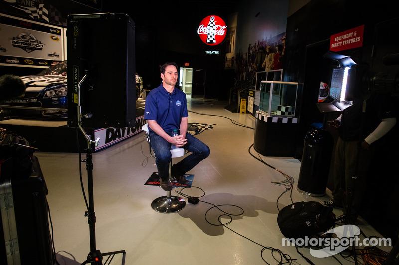 2013 Daytona 500-winnaar Jimmie Johnson, Hendrick Motorsports Chevrolet
