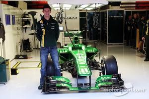 Alexander Rossi, Caterham F1 Reserve Driver announcement