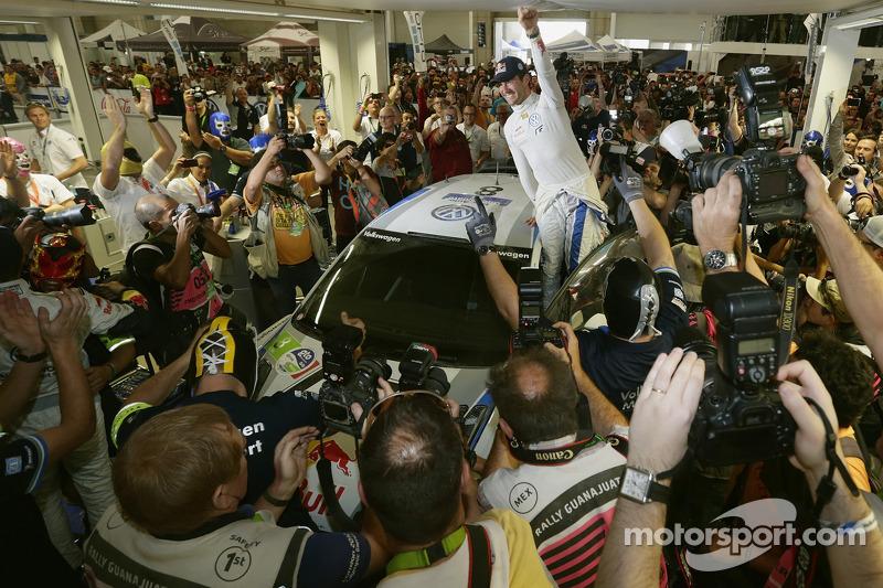 Ganador Sébastien Ogier, Volkswagen Motorsport