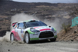 Benito Guerra and Borja Rozada, Citroën DS3 WRC