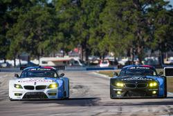 #56 BMW Team RLL BMW Z4 GTE: Dirk Müller, Joey Hand, John Edwards, #55 BMW Team RLL BMW Z4 GTE: Bill
