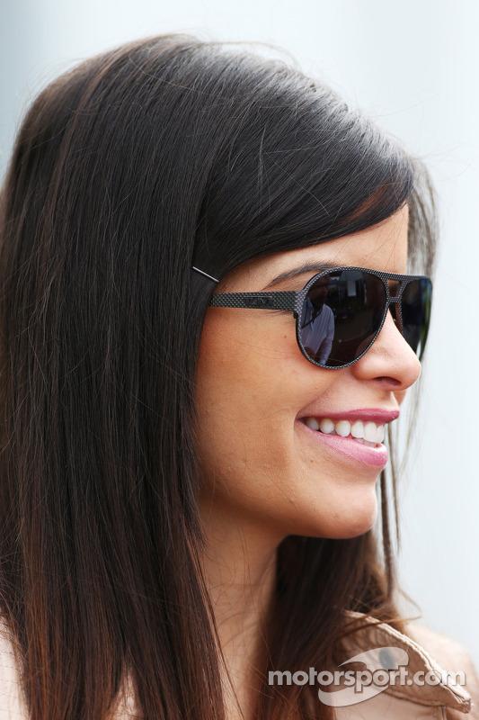 Gabriella Tarkany, namorada de Pastor Maldonado, Williams