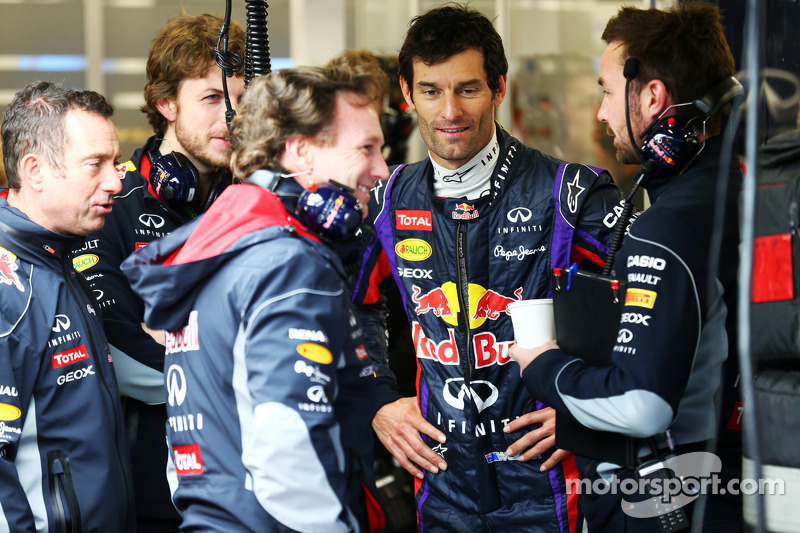 Christian Horner, Teambaas Red Bull Racing en Mark Webber, Red Bull Racing