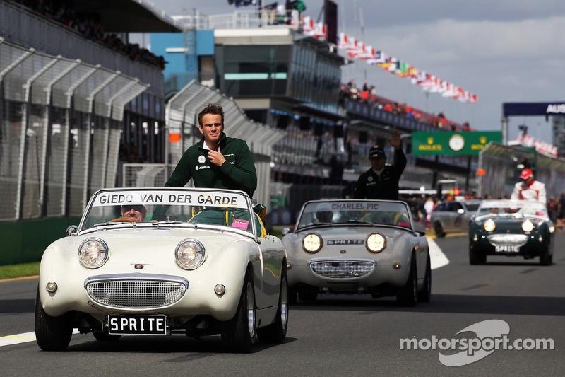 Гидо ван дер Гарде. ГП Австралии, Воскресенье, перед гонкой.