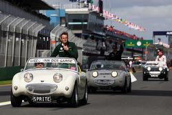 Giedo van der Garde, Caterham F1 Team na parada de pilotos