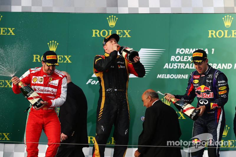 ГП Австралии, Воскресенье, после гонки.