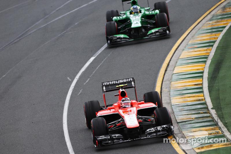 Жюль Бьянки. ГП Австралии, Воскресная гонка.