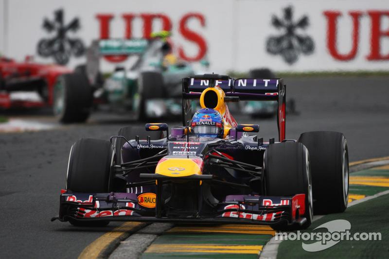 Себастьян Феттель. ГП Австралии, Воскресная гонка.