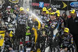 Kasey Kahne, Hendrick Motorsports Chevrolet celebrates
