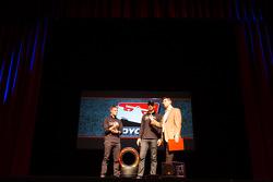 Drivers presentation: James Jakes, Rahal Letterman Lanigan Racing Honda and Graham Rahal, Rahal Letterman Lanigan Racing Honda