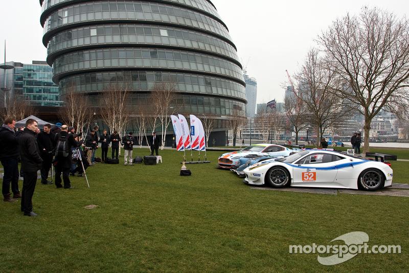 Aston Martin Vantage V8, Strakka LMP1, Ferrari 458
