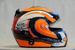 Helmet,  Charles Ng, BMW E90 320 TC, Liqui Moly Team Engstler