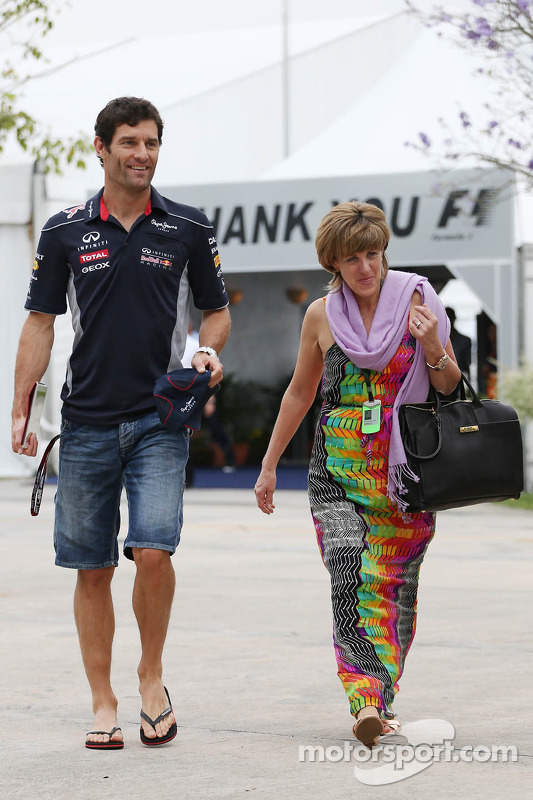 Mark Webber, Red Bull Racing com Ann Neal