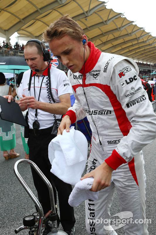 Jules Bianchi, Marussia F1 Team no grid