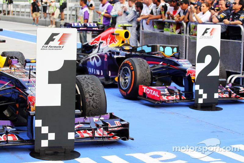 ГП Малайзии, Воскресенье, после гонки.