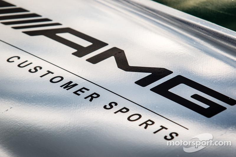 De Mercedes-Benz SLS AMG GT3 van Tim Pappas