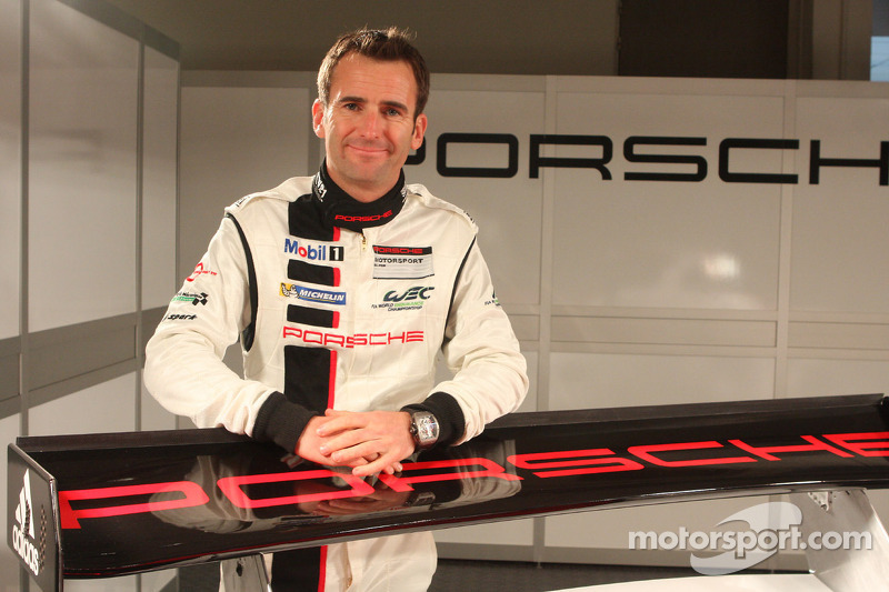 Ромен Дюма. Презентация Porsche 911 RSR, презентация.