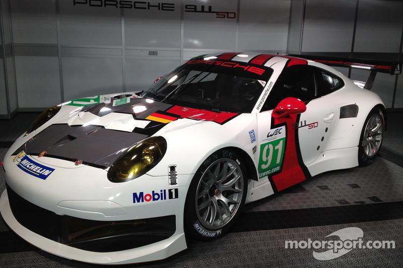 Презентация Porsche 911 RSR, презентация.