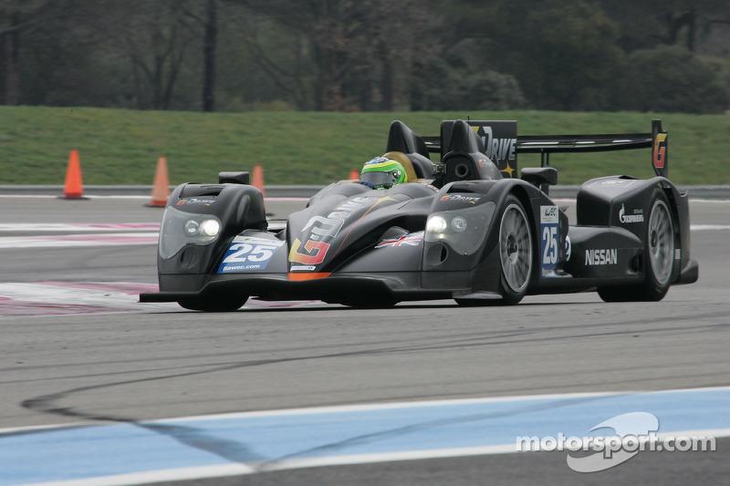 #25 Delta-ADR Oreca 03 Nissan: Antonio Pizzonia, Tor Graves, Rodolfo Gonzalez