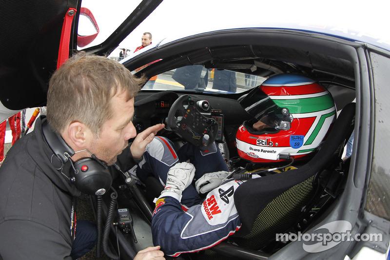 Sébastien Loeb and Alvaro Parente