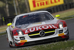 #2 HTP Gravity Charouz Mercedes SLS AMG GT3: Sergei Afanasiev, Allan Simonsen