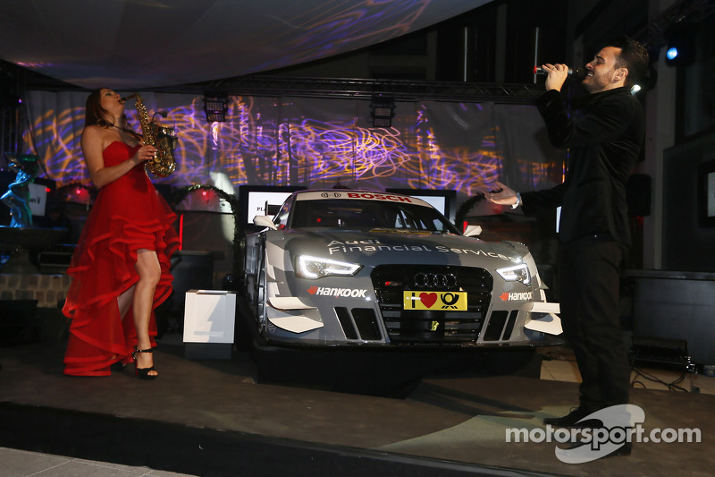 Вечеринка Audi перед стартом сезона, особое событие.