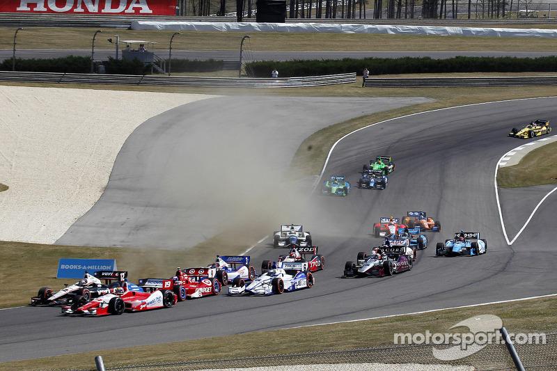 Start: Ryan Hunter-Reay, Andretti Autosport Chevrolet