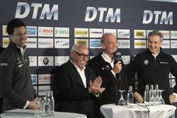 Torger Christian Toto Wolff, Sporting Director Mercedes-Benz, Hans Werner Aufrecht, Chairman of DTM,