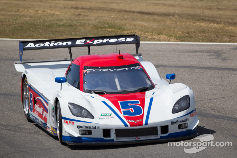 Action Express Racing Corvette DP: Christian Fittipaldi, Brian Frisselle