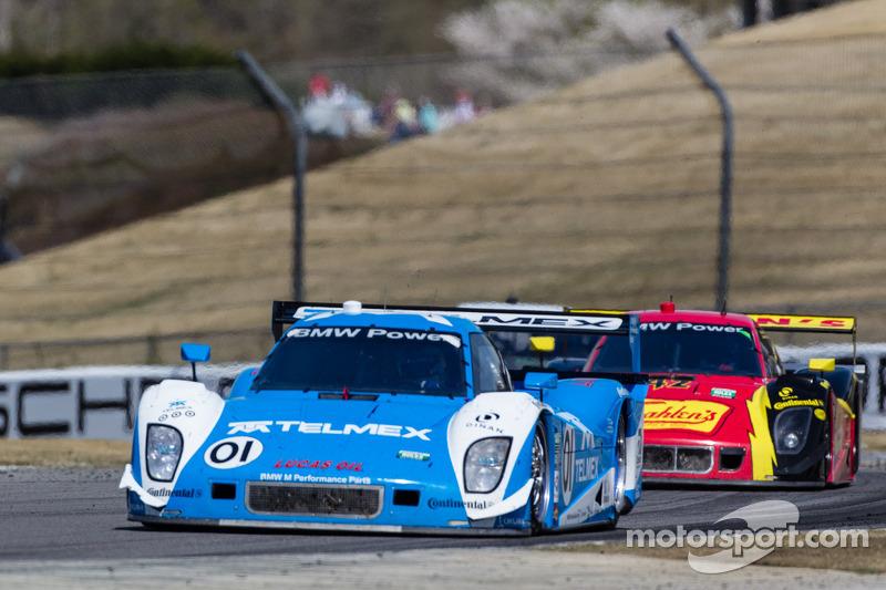 Chip Ganassi Racing met Felix Sabates BMW Riley: Scott Pruett, Memo Rojas