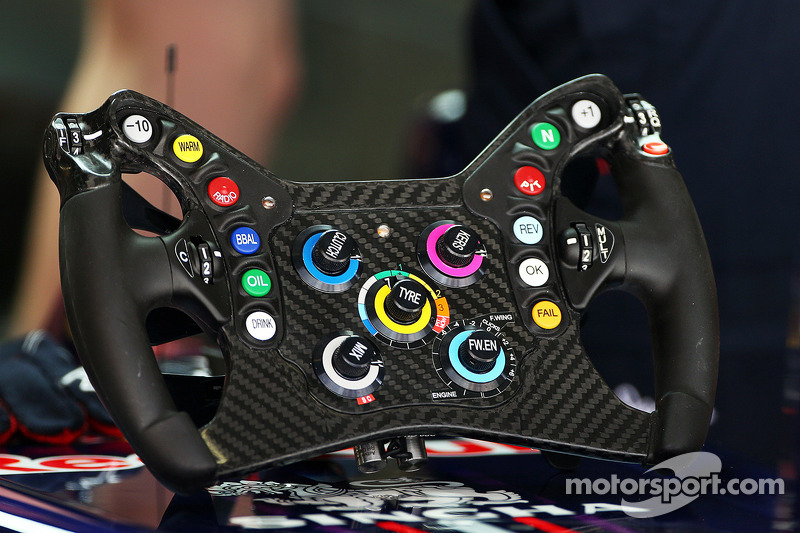 Red Bull Racing RB9 steering wheel