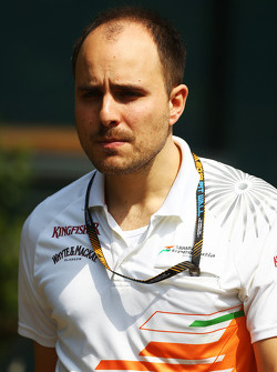 Gianpiero Lambiase, Engenheiro Sahara Force India F1