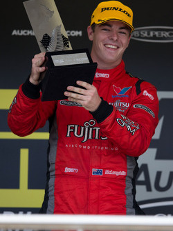 Scott McLaughlin of Garry Rogers Motorsport winner of race 1