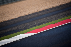 Track colors at Silverstone