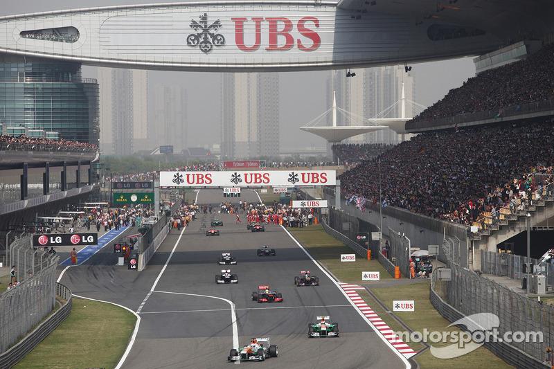Пол ди Реста. ГП Китая, Воскресенье, перед гонкой.