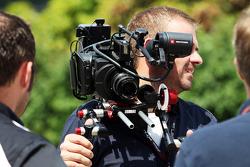 Sky Sports F1 Cameraman