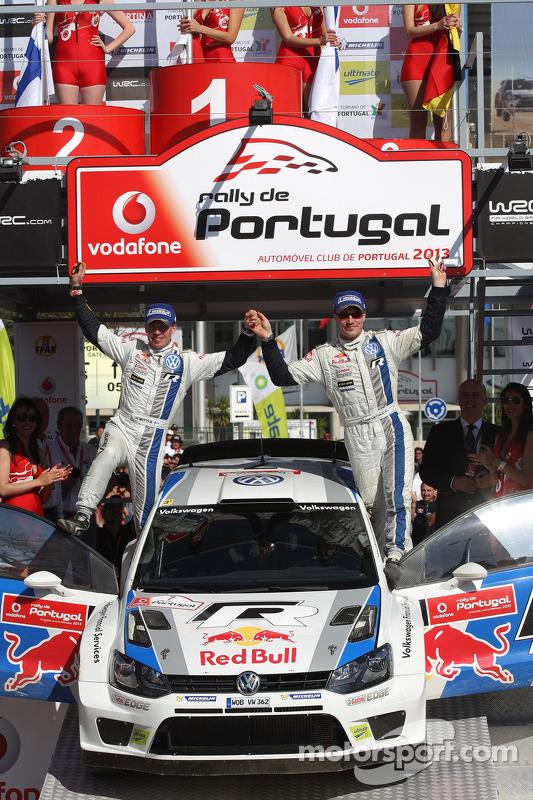 Jari-Matti Latvala, Miikka Anttila, Volkswagen Polo WRC, Volkswagen Motorsport, Terceira posição
