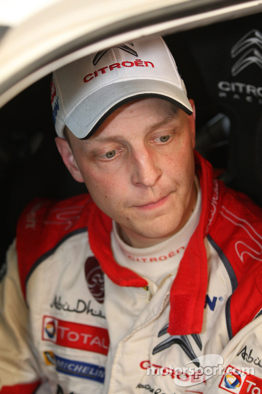Mikko Hirvonen, Jarmo Lehtinen, Citroen DS3 WRC, Citroen Total Abu Dhabi World Rali Team