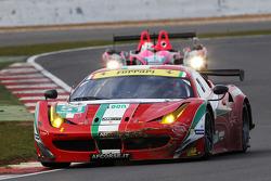 #51 AF Corse, Ferrari F458 Italia: Giancarlo Fisichella, Gianmaria Bruni