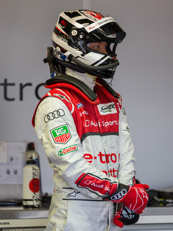 Andre Lotterer ready to enter the #1 Audi