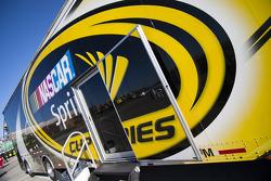 NASCAR hauler detail