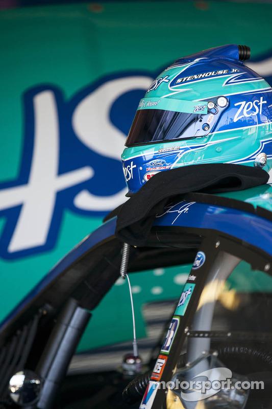 Capacete de Ricky Stenhouse Jr., Roush Fenway Racing Ford