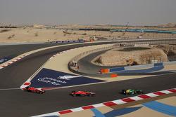 Jules Bianchi, Marussia F1 Team MR02 and Max Chilton, Marussia F1 Team MR02