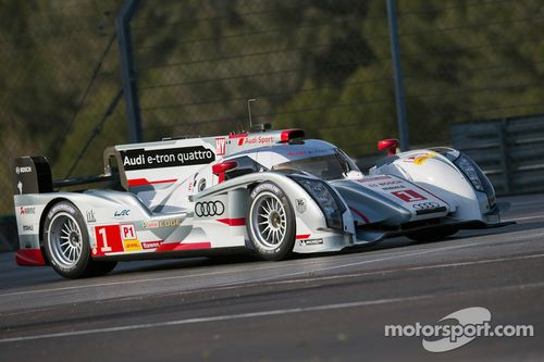 Audi prepares for Spa 6 Hours
