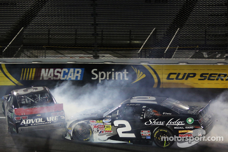 Trouble for Austin Dillon and Brian Scott