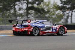 #27 Sport Garage Ferrari 458 Italia: Eric Cayrolle, Jacques Villeneuve
