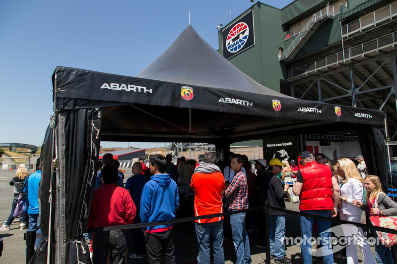 Abarth racing experience op de Sonoma raceway