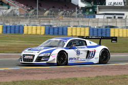 #42 Team Saintéloc Racing BR Performance Audi R8 LMS Ultra: David Halliday, Grégory Guilvert