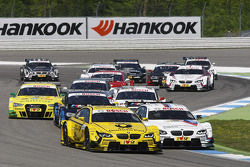 Timo Glock, BMW Team MTEK BMW M3 DTM and Martin Tomczyk, BMW Team RMG BMW M3 DTM